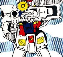 Pop Fusion - R-78 Gundam by atelierMUSE