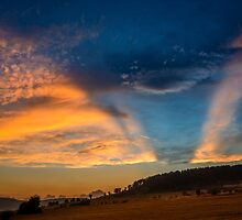 sunset by Dobromir Dobrinov