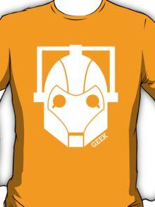 Geek Shirt #1 Cyberman (White) T-Shirt