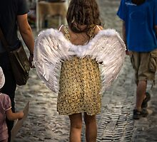 Walking angel by Dobromir Dobrinov