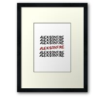Alexisonfire Framed Print