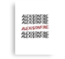 Alexisonfire Canvas Print