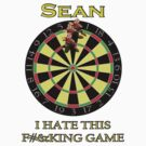 Sean - custom darts tee by marinasinger