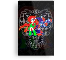 Ivy & Harley V2 - Gothamettes Metal Print