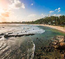 Mirissa Beach, Sri Lanka. by Karl Willson