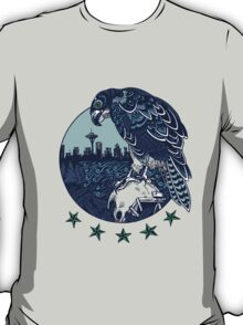 Seattle Seahawks Skyline T-Shirt