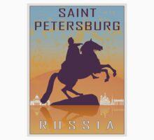 Saint Petersburg vintage poster by paulrommer