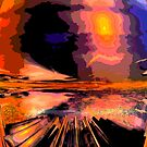 Sunburst by Benedikt Amrhein
