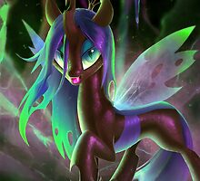 Queen Chrysalis by Dawnfire