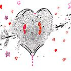 heart overflowing by Regina Valluzzi