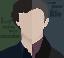 Sherlock and John by Jack Lloyd