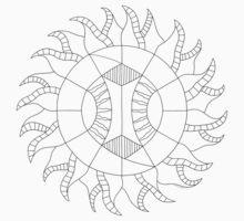 Shine On Mandala - Paint Your Own Mandala Kids Clothes