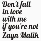 Don't Fall in Love With Me Unless... by 1DxShirtsXLove