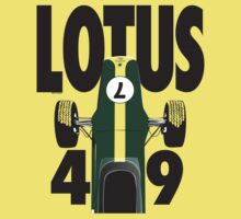 Lotus 49 Graham Hill Kids Clothes