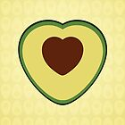 avocado love by Shabnam Salek