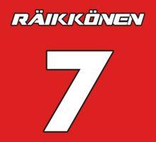 Raikkonen 7 Kids Clothes