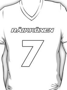 Raikkonen 7 T-Shirt