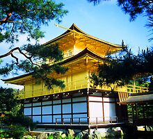 Kinkaku-ji Temple / Golden Temple, Kyoto, Japan by Peter Schneiter