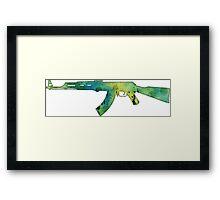 Paint Gun Framed Print