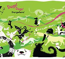 Dogs, Dogs, Everywhere! by Wendy Wahman