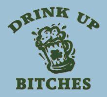 Irish Drink UP Bitches Kids Clothes