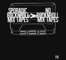 Sporadic Rocknroll Mix Tapes > No Rocknroll Mix Tapes (White) by AlbieRocknroll