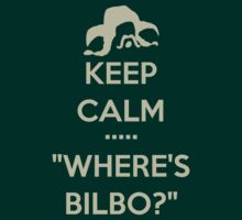 Keep Calm... Where's Bilbo? Transparent Version by PippinT