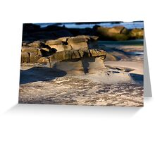 Sculpted By Wind And Water - Beachcomber Series Greeting Card