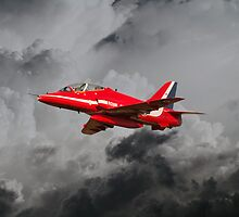 Red Arrows Hawk by James Biggadike