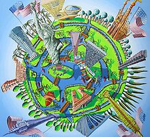 new york naive paintings NY painting raphael perez painter  by raphael perez
