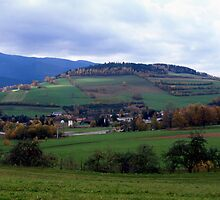Autumn in the Bavarian Forest by intensivelight