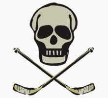 Ice Hockey Skull by shakeoutfitters
