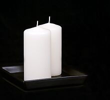 White Candles by Tom Klausz
