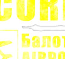 Balota Airport Security Sticker