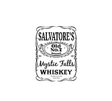 Salvatore's Whiskey [White] by jacquackle
