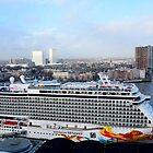 Norwegian Getaway  Maiden Trip.   Rotterdam by MaartenMR