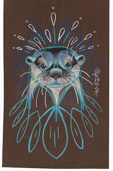 River Otter. by resonanteye