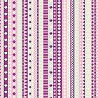 Stripes pink. by Ekaterina Panova