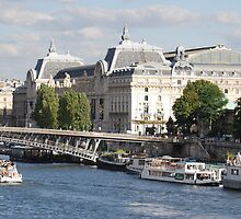 Orsay Museum Gazes upon the Blue Seine by AshleighHodges
