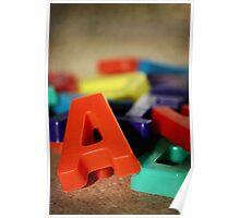 Alphabet Fun Poster