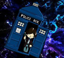 TARDIS in SPACE doctor who 2 by Bantambb