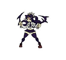 Skullgirls Pixels- Filia Photographic Print