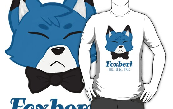 Foxbert, The Blue Fox by krustallos