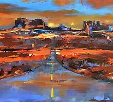 The land of Rock Towers by Elise Palmigiani