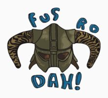 Skyrim - Fus Ro Dah by bobattackman