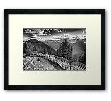 Tourists Framed Print