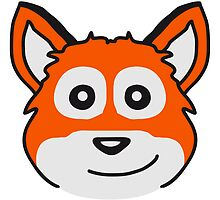 Cute Fox Child Face by Style-O-Mat
