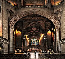 Anglican Cathedral by Irene  Burdell