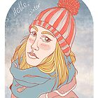 Winter girl by hbitik