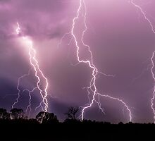 Lightning Over Royston by TimothyAJ